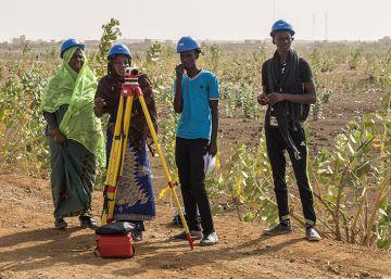 Formación para jóvenes en Mauritania