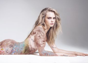 Cara Delevingne se desnuda contra la caza de animales