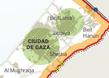 Territorio palestino de Gaza