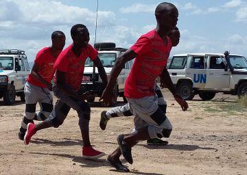 Dinero (y no solo) para reconstruir la identidad de refugiados africanos