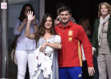 Sara Carbonero se va a casa con Lucas