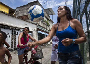 Las favelas de Río, cantera de fútbol femenino
