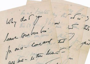 Sale a subasta una carta de Kennedy para una amante