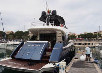 Rafa Nadal estrena su lujoso barco