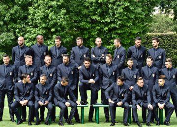 Futbolistas de pasarela en la Eurocopa