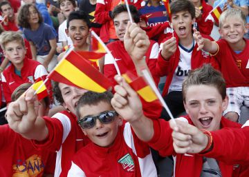 Eurocopa 2016: Primer entrenamiento de la selección española