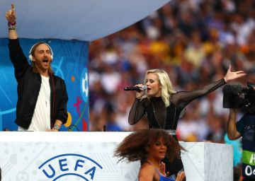 Ceremonia de inauguración de la Eurocopa 2016