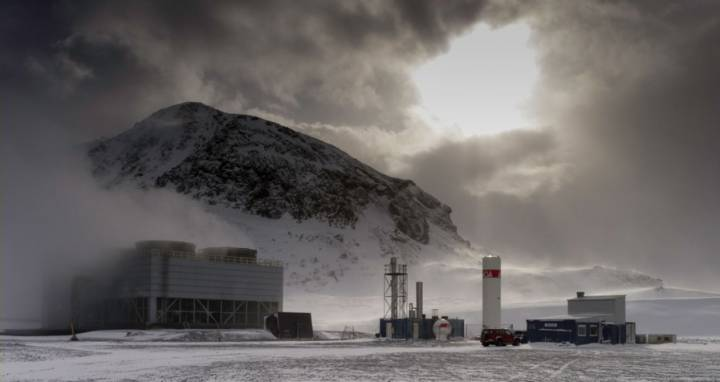 Imagen de la planta de Hellisheidi, incluida en la web del proyecto CarbFix