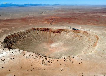 Antes de que llegara el meteorito