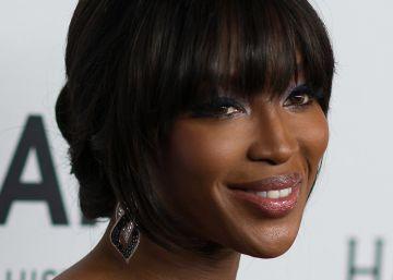 Honores a Naomi Campbell por su lucha contra el sida