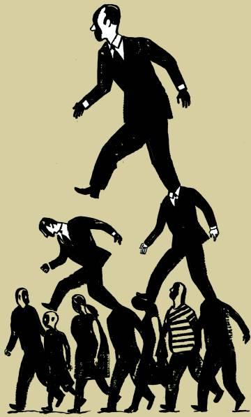 ¡Arriba la gente, abajo los políticos!
