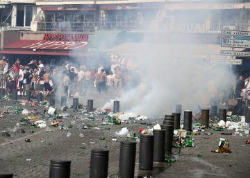 Tarde de violencia y destrozos en Marsella
