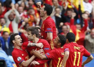 España - República Checa, en fotos