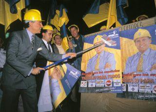 El partido de Yola Berrocal y otros grupos políticos de famosos
