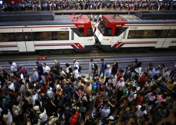 Huelga de Metro y Renfe en Madrid