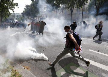 Protestas contra la reforma laboral en Francia