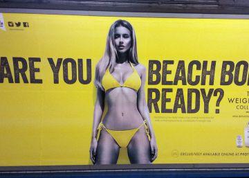 Londres, contra la extrema delgadez en los anuncios del transporte público