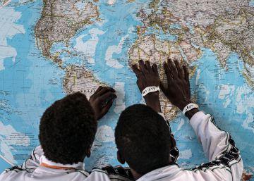 El 90% de los niños migrantes llegan solos a Italia