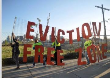Vida urbana contra los desahucios en Boston