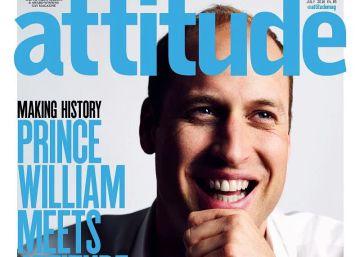 El príncipe Guillermo, portada de una revista gay