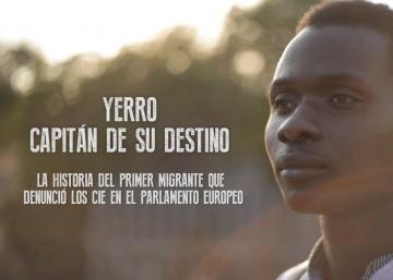 Yerro, el migrante que denunció los CIE en Bruselas