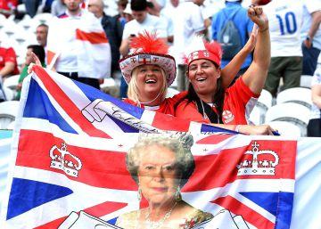 Batalla de colores entre ingleses y galeses