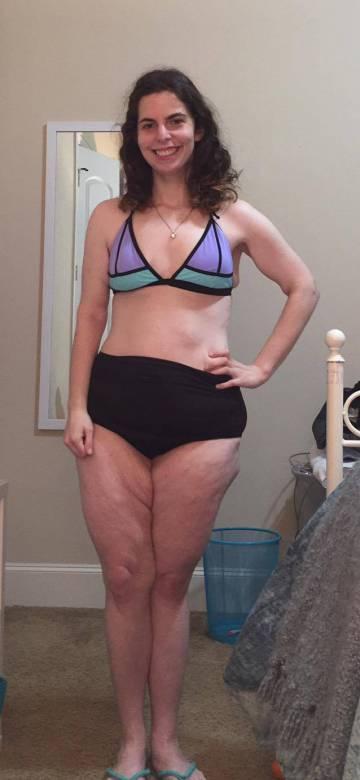 """""""Tengo 21 años y nunca antes me había puesto un bikini. Esta es mi foto"""""""