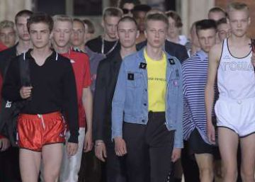 La moda masculina gana metros
