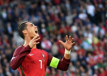 La intensidad gestual de Cristiano Ronaldo