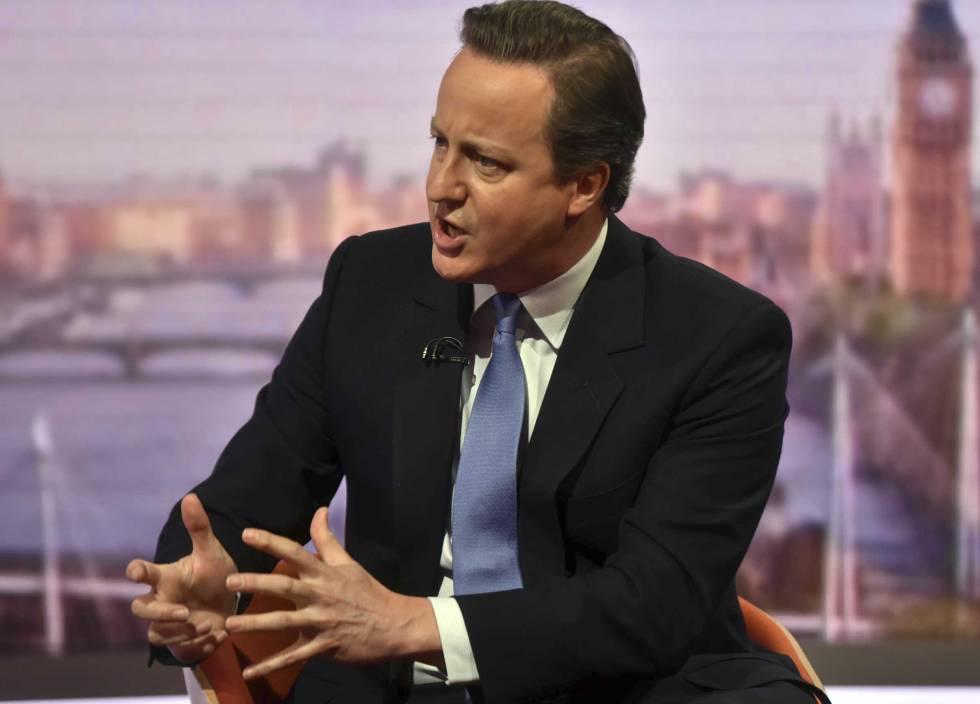 David Cameron, premier británico