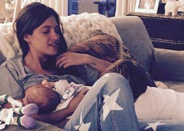 La imagen más maternal de Sara Carbonero