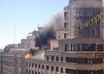 Incendio en el edificio Capitol