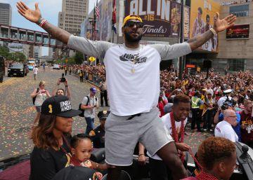 Cleveland enloquece con LeBron