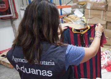 Falsificaciones y contrabando en Algeciras
