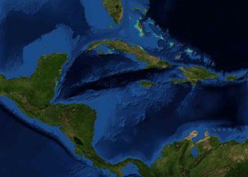 Una gran ola en el Caribe produce un silbido que se escucha desde el espacio