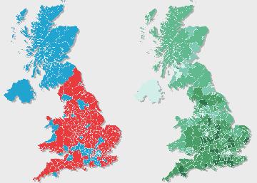 Resultados del referéndum del 'Brexit'