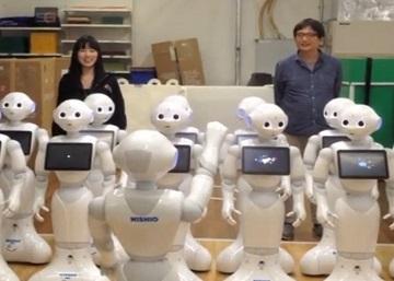 Un coro de robots interpreta la novena de Beethoven