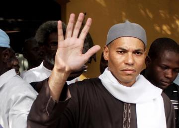 Karim Wade sale de prisión
