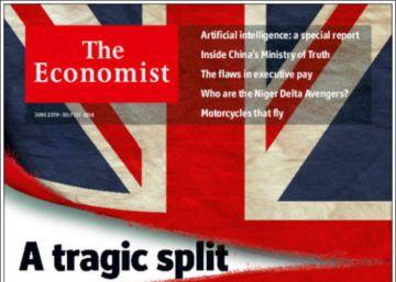Portadas de Reino Unido tras el 'Brexit'