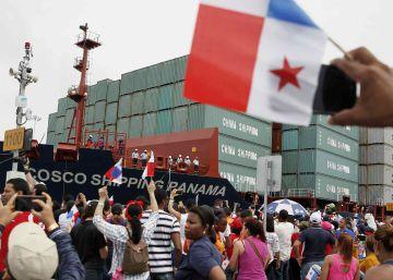 Inaguración del Canal de Panamá