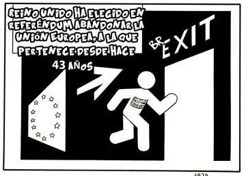 El 'Brexit', explicado en viñetas
