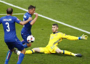 Italia - España, las imágenes del partido de la Eurocopa 2016
