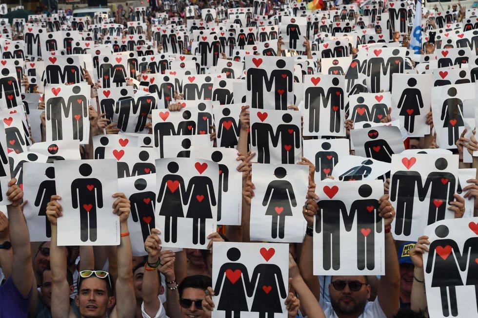 Desfile del Orgullo Gay 2013 en Madrid: nuevo