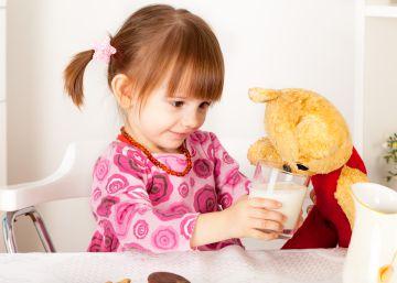 Leches de crecimiento para equilibrar la dieta de los niños