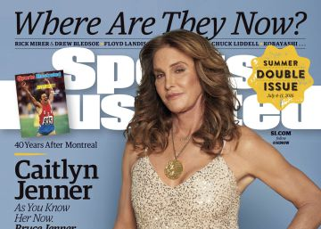 Caitlyn Jenner luce su medalla olímpica en 'Sports Illustrated'