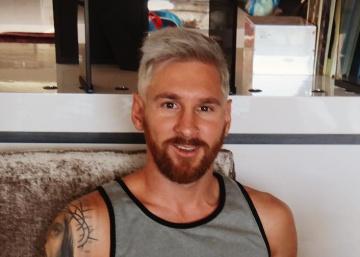 Messi, el último futbolista en cambiar su imagen