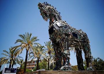 Un caballo de Troya tecnológico escuda a la Universidad de Tel Aviv