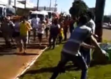 Detenido un hombre por intentar apagar la antorcha olímpica