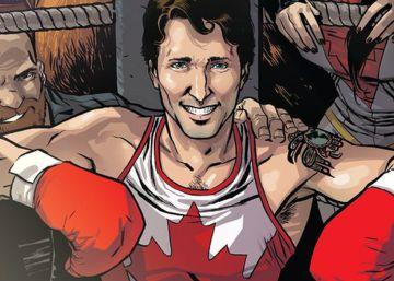 Justin Trudeau ahora es un superhéroe