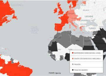El mapa de la homofobia en el mundo